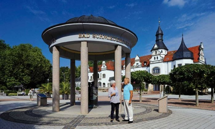 Bad Schmiedeberger Trinkbrunnen - Radon