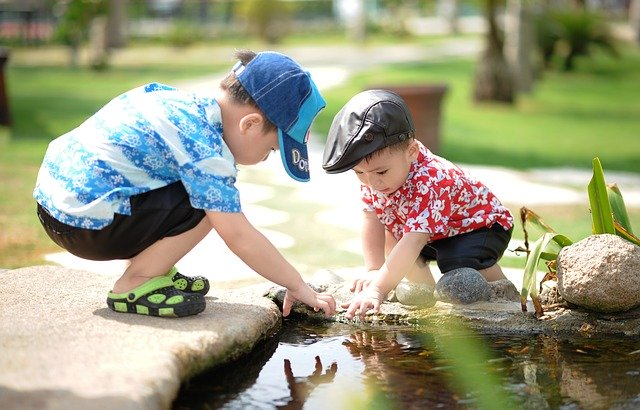 Kinder lernen Kneipp spielerisch kennen
